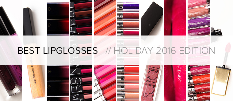 Best Lipglosses | Holiday 2016 Gift Guide