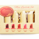 Besame Holiday 2016 Mini Lipstick Set