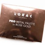 LORAC PRO Metal (Rose Gold) Pro Palette (8-Pan)