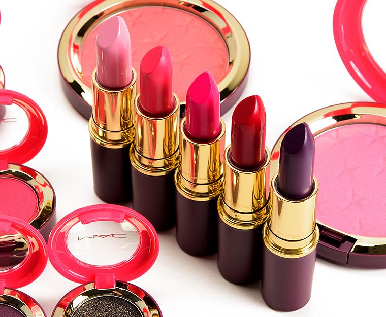 MAC Nutcracker Sweet Lipsticks