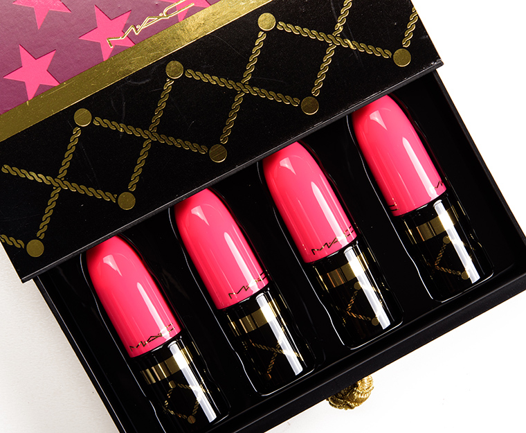 MAC Nutcracker Sweet Red Lip Bag