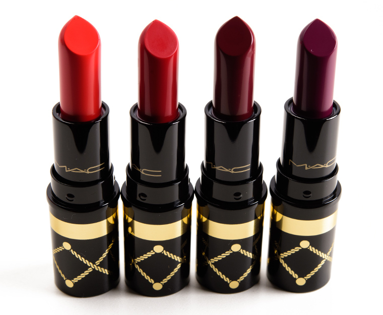 MAC Red Nutcracker Sweet Lipstick Kit
