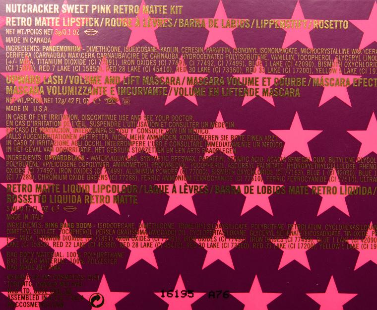 MAC Nutcracker Sweet Pink Retro Matte Lip Kit