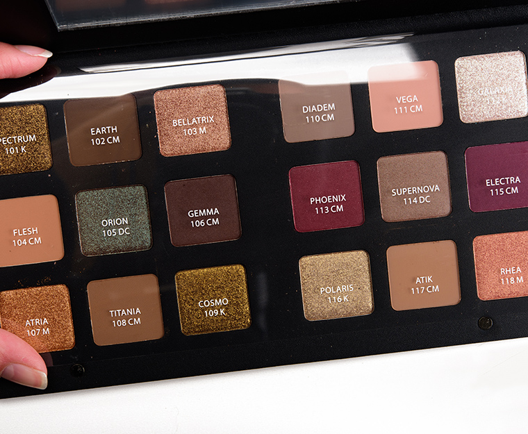 natasha denona star eyeshadow palette review photos swatches