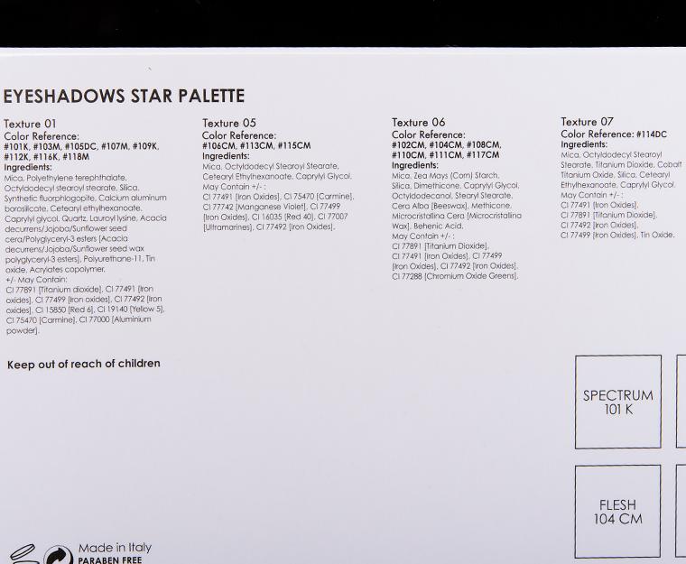 Natasha Denona Star 18-Pan Eyeshadow Palette