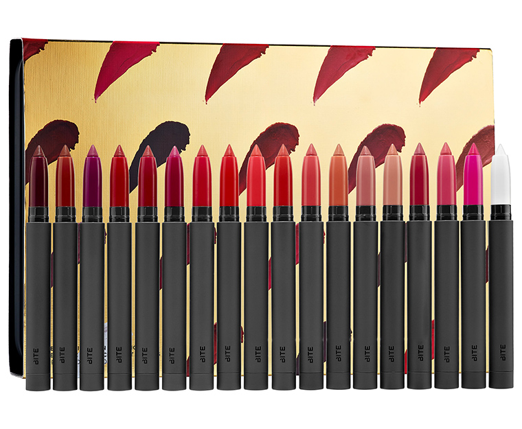 Bite Beauty Matte Creme Lip Crayon Collection Set for Holiday 2016