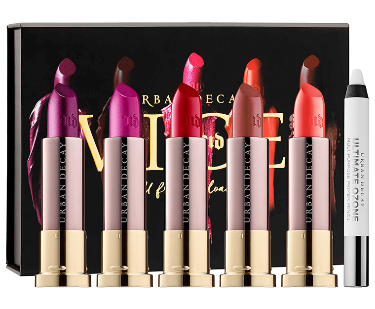 Urban Decay Full Frontal Reloaded Vice Lipstick Set for Holiday 2016