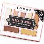 LORAC Black Tie Attire Black Friday 2016 Eyeshadow Palette