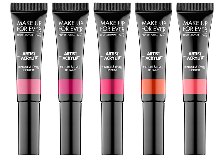 Make Up For Ever Artist Acrylip for Spring 2017