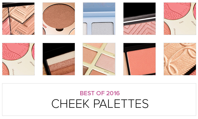 Top 10 of 2016: Best Cheek Palettes