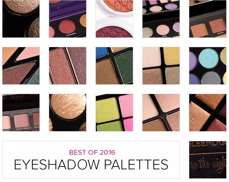 Top 16 of 2016: Best Eyeshadow Palettes