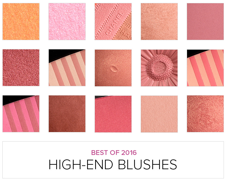 Top 16 of 2016: High-End Blushes