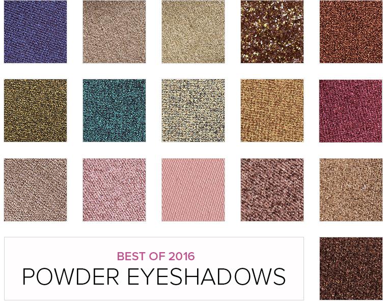 Top 16 of 2016: Best Powder Eyeshadows (Over $10)