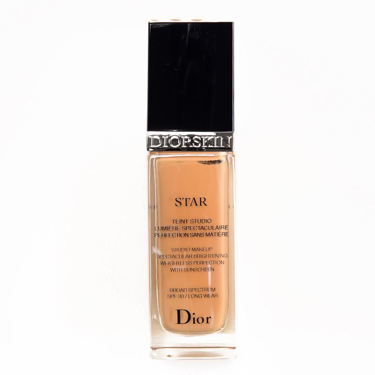 Dior 023 Peach Star Fluid Foundation SPF 30