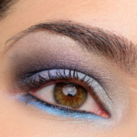 Kat Von D Alchemist Palette over Giorgio Armani Shadow Eye Tint