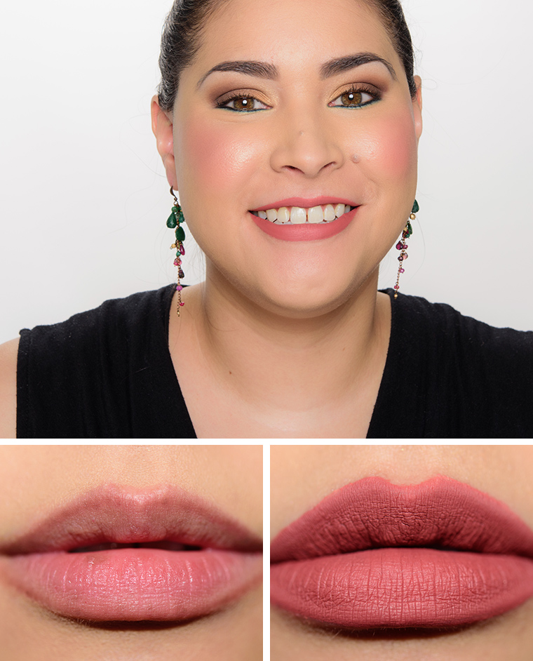 tarte homeslice delish rose tarteist matte lip paints