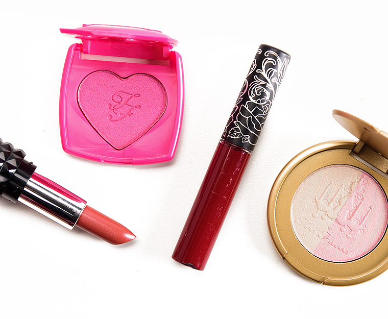 Too Faced x Kat Von D Better Together Cheek & Lip Makeup Bag Set ...