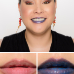 Lancome Crystallized Cobalt (10) Le Metallique Metallic Lip Lacquer