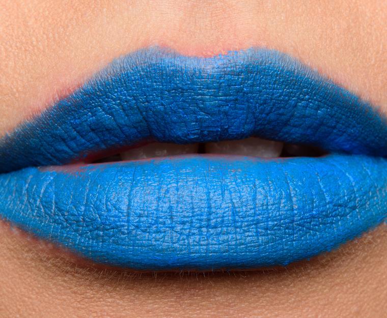 MAC Blue Bang, Jean Genie, Flatter Me Fierce Lipsticks ...
