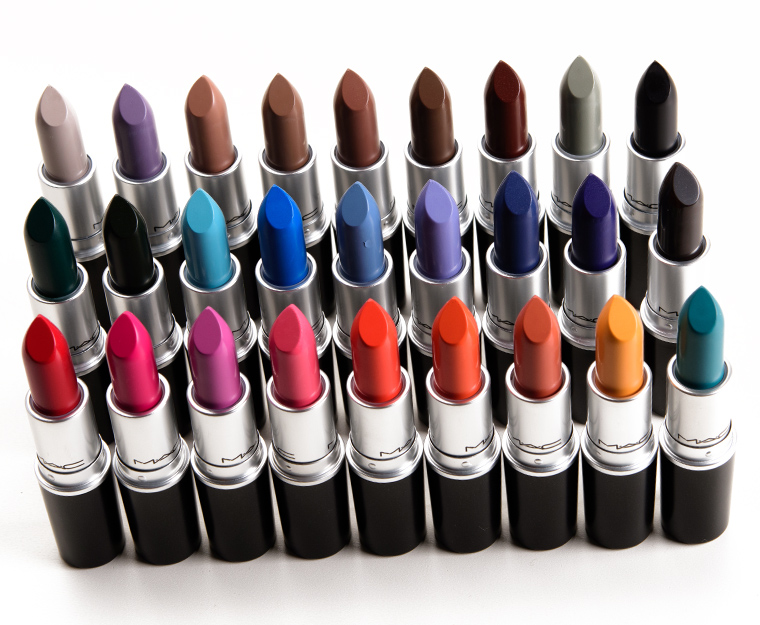 MAC Colour Rocker Lipsticks