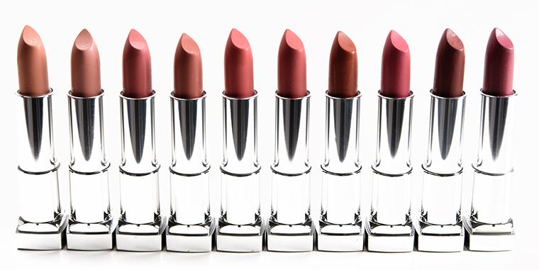 Maybelline Color Sensational Inti-Matte Lipsticks