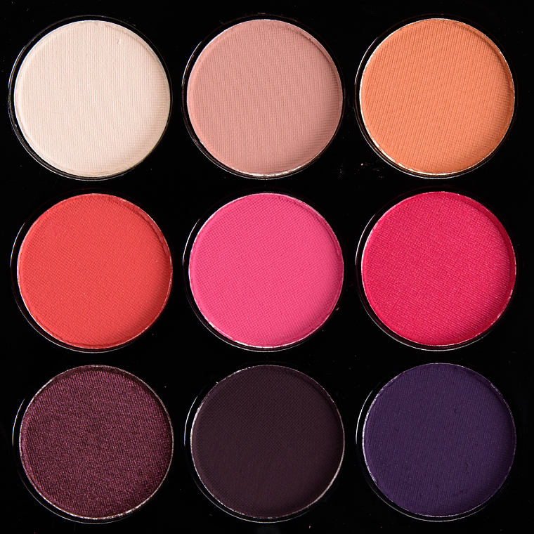 MAC Red-Hot Times Nine Eyeshadow Palette ....  Temptalia - HowlDb