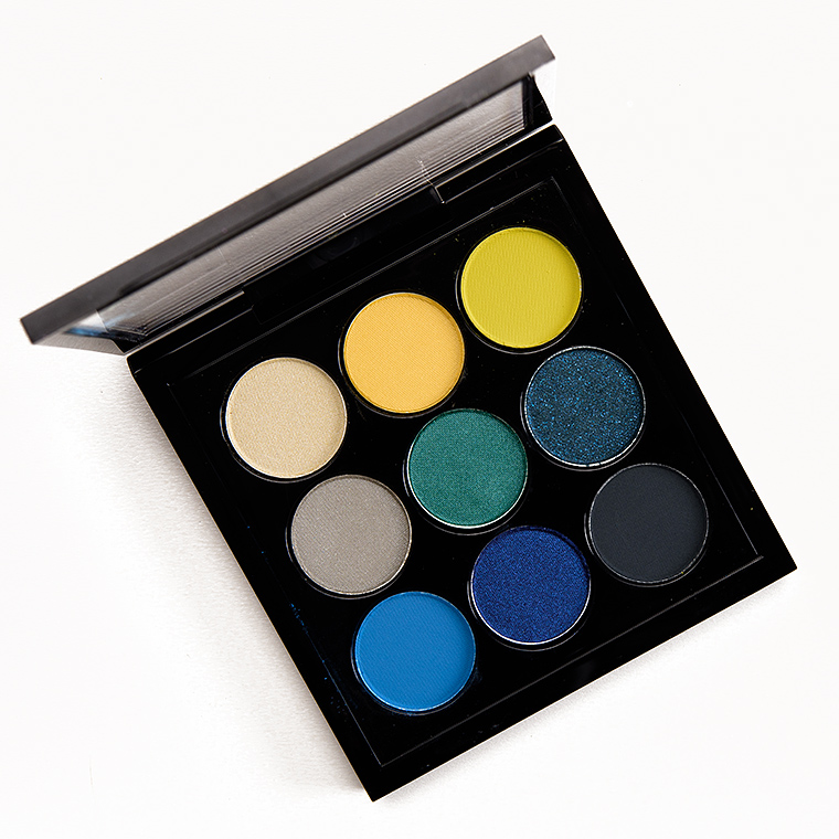MAC Tropic Cool Times Nine Eyeshadow x 9 Palette