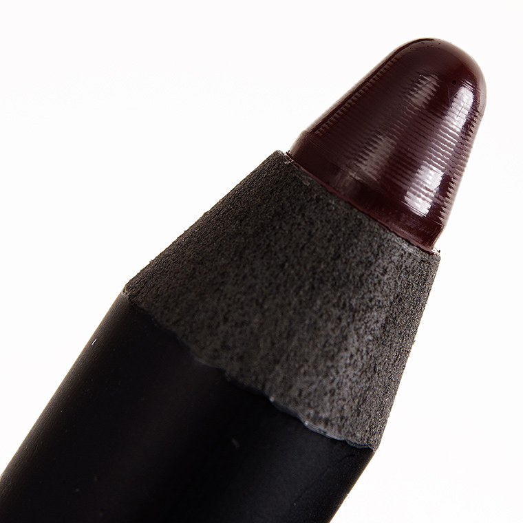 NARS Train Bleu Velvet Matte Lip Pencil Review & Swatches