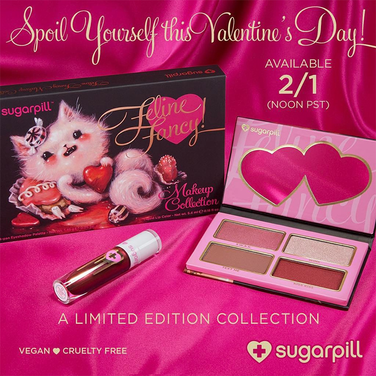 Sugarpill Feline Fancy Makeup Collection for Spring 2017