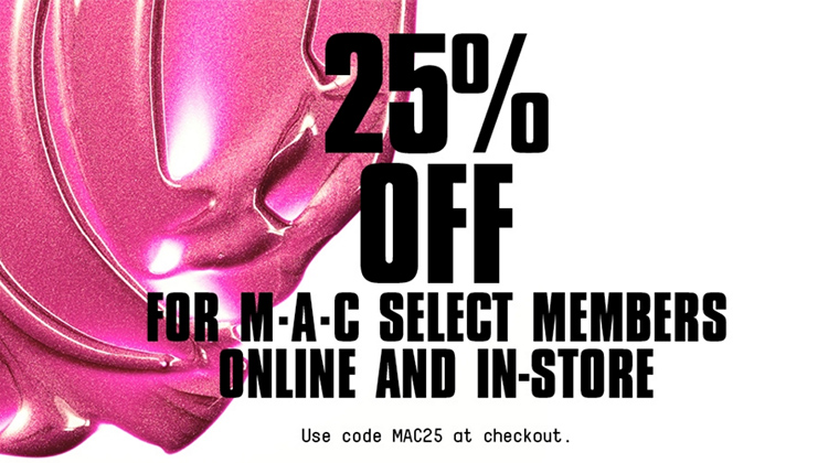 Mac Makeup Logo Pink