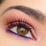A Gold & Purple Eye | Look Breakdown