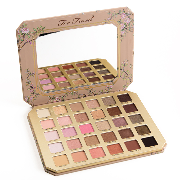 Too Faced Natural Love Ultimate Neutral Eyeshadow Palette Review ...