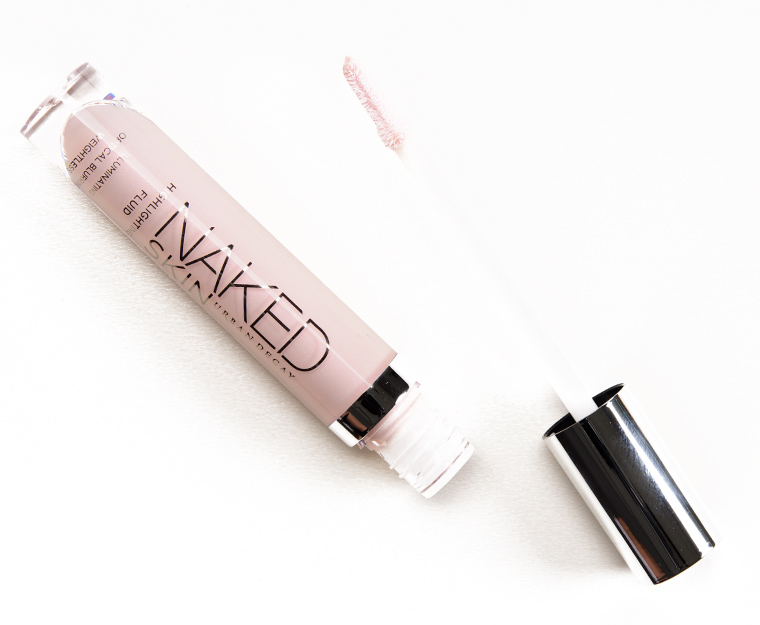 Urban Decay Aura & Fireball Naked Skin Highlighting Fluids