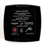 Chanel Desert Rouge (36) Ombre Premiere Longwear Powder Eyeshadow