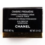Chanel Obscur (816) Ombre Premiere Longwear Cream Eyeshadow