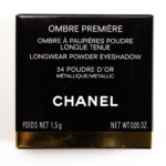 Chanel Poudre d\'Or (34) Ombre Premiere Longwear Powder Eyeshadow