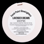 Coloured Raine Lavender Dreams Focal Point Glowlighter