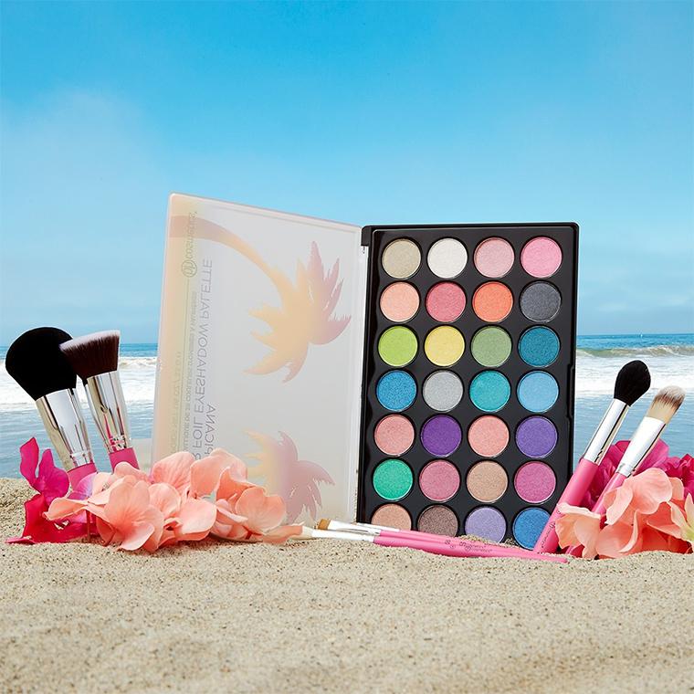 BH Cosmetics Club Tropicana Foil Eyeshadow Palette for Summer 2017