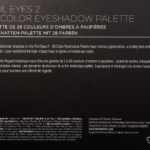 BH Cosmetics Foil Eyes 2 28 Color Eyeshadow Palette