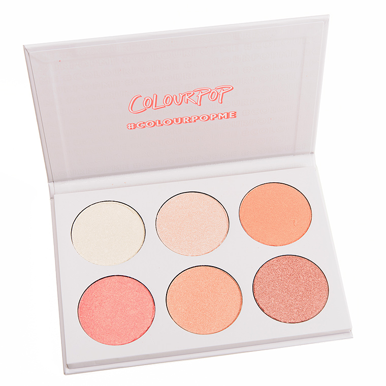 ColourPop Gimme More 6-Pan Pressed Powder Highlighter Palette