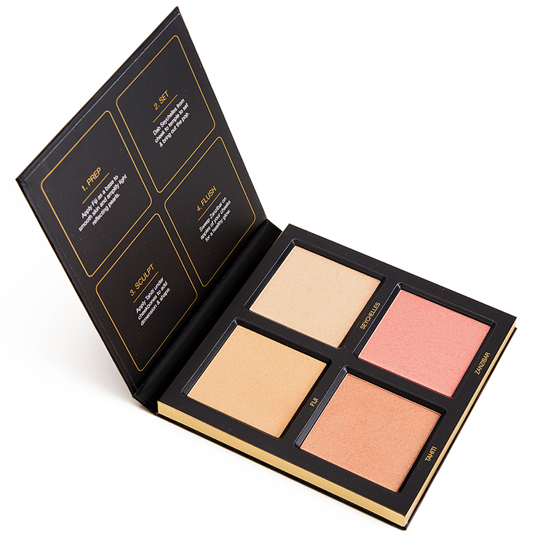 Huda Beauty Golden Sand 3D Highlighter Palette