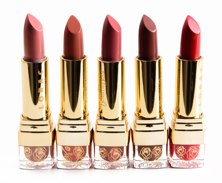 LORAC Beauty and the Beast Lipstick Collection Lipstick Collection