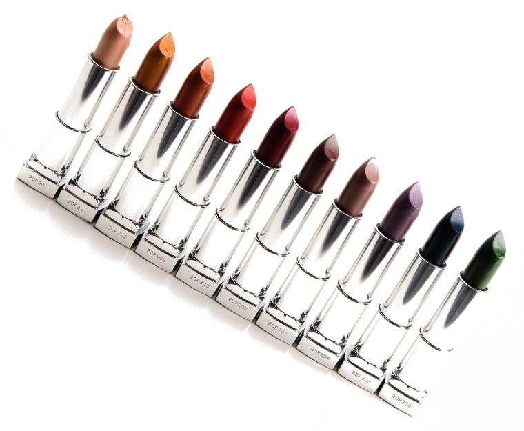 Maybelline Matte Metallic Lipsticks