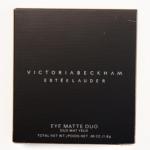 Estee Lauder Noir Vanille Victoria Beckham Eye Duo