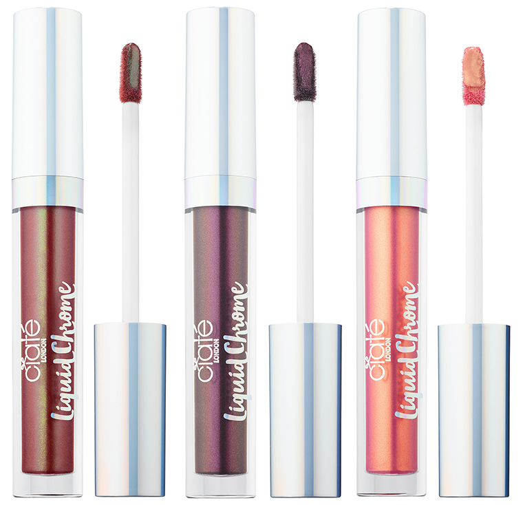 Ciate Liquid Chrome & Glitter Flip Liquid Lipsticks