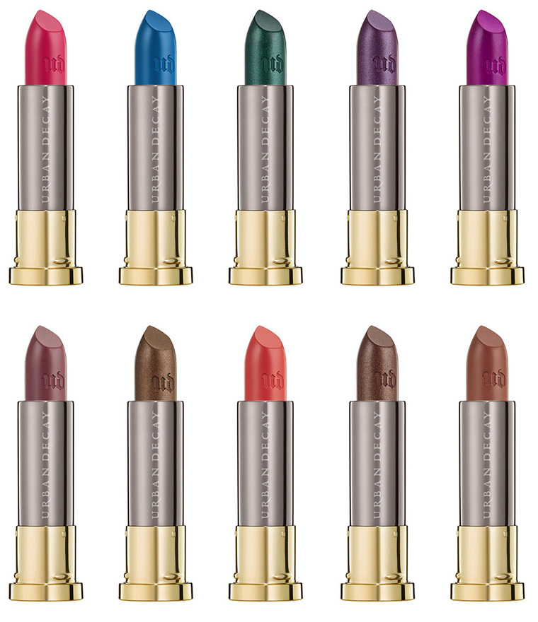 Urban Decay Vice Lipstick & Vice Liquid Lipstick Extensions for Fall 2017
