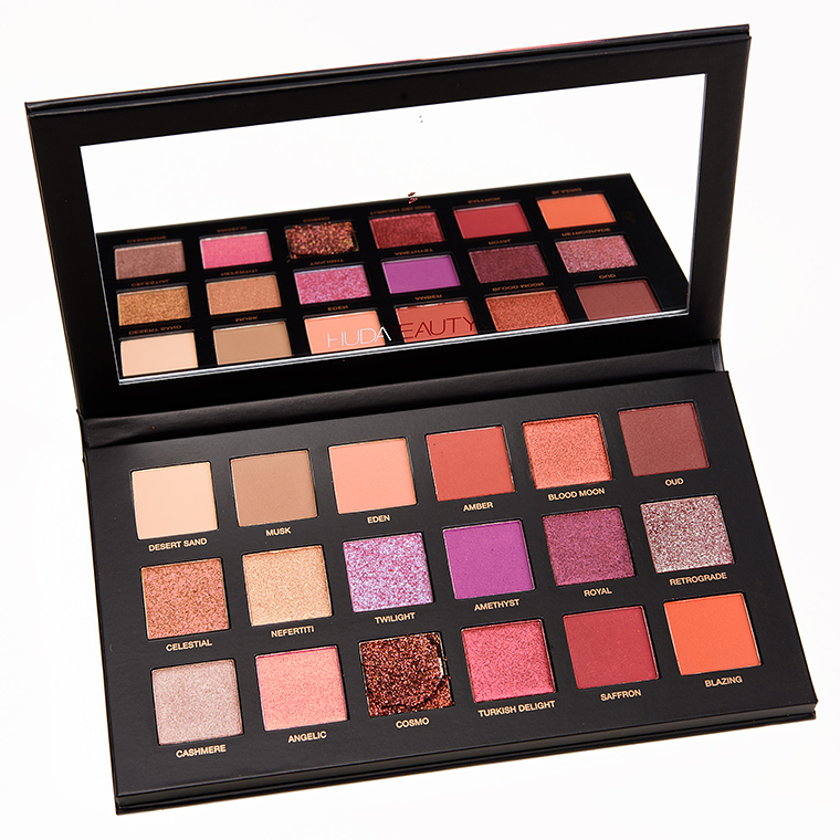 huda beauty desert dusk eyeshadow palette review photos. Black Bedroom Furniture Sets. Home Design Ideas