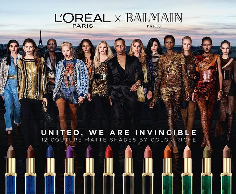 L'Oreal x Balmain Paris Lipstick