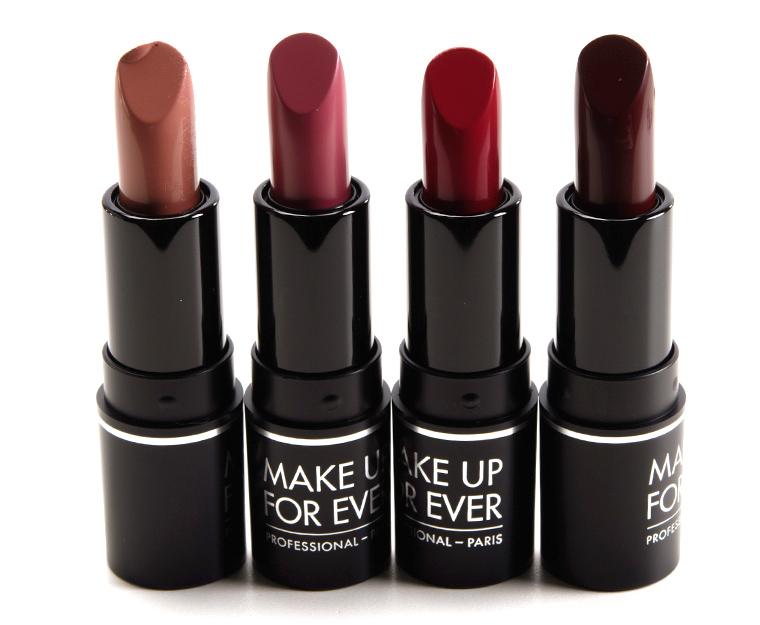 make up for ever artist rouge lipstick set � lip palette
