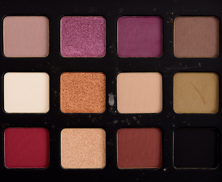 make up for ever lustrous shadow palette review photos